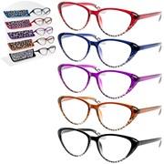 Reading Glasses Ladies 5 Asstd (LP41456)